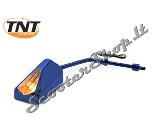 TNT F11 veidrodis abipusis mėlynas