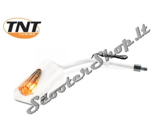 TNT F11 veidrodis abipusis baltas
