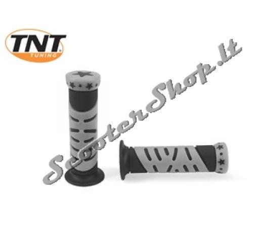 TNT rankenėlės star pilka/juoda