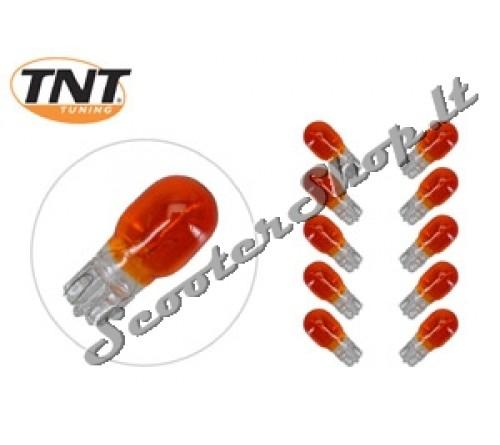 Lemputė 12V 10W T13 oranzine