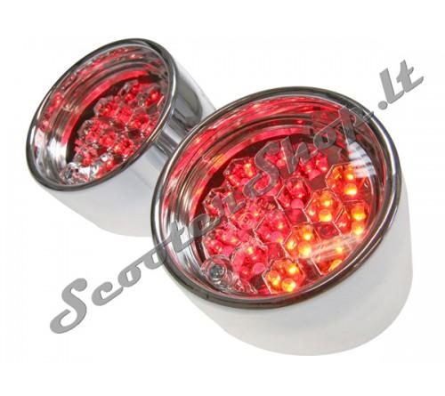 Aprillia SR galinė lempa LED su posūkiais (2)