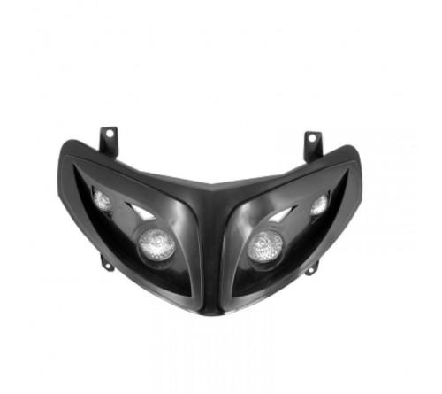 Speedfight 2 priekinė lempa juoda
