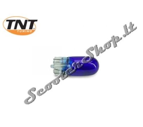 TNT mėlyna lemputė becokolinė 12v-3w