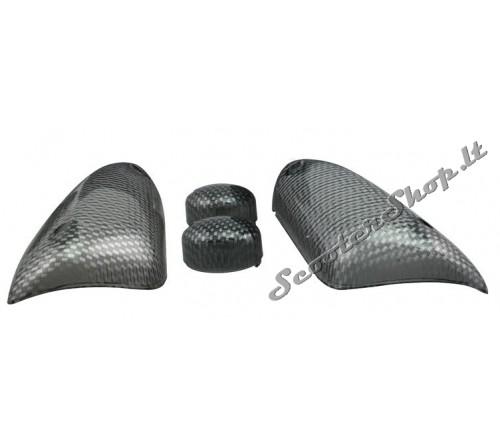 Aerox posūkių stikliukai Carbon