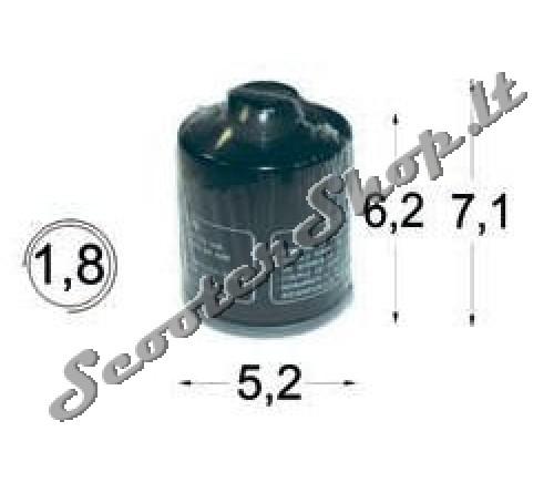 Tepalo filtras Piaggio mp3 400cc