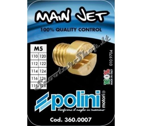 Žiklerių komplektas 5mm 110-128 (10)