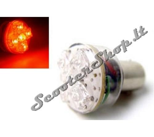 Posūkių lemputė STR8 LED BAY15D Sidabruota