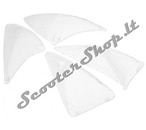 STR8 posūkių stikliukai balti