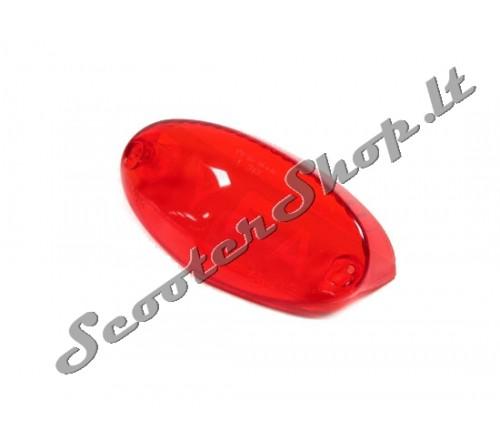 Galinės lempos stiklas Ludix Raudona