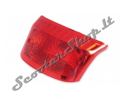 Booster BWS 2004 galinis stiklas raudonas