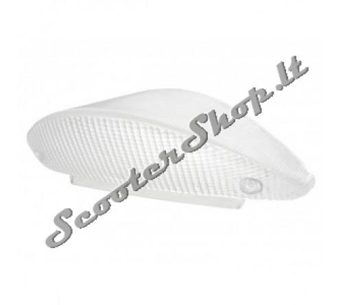 Aerox galinis stiklas STR8 Baltas